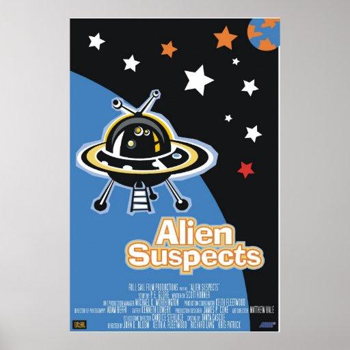 Alien Suspects Poster