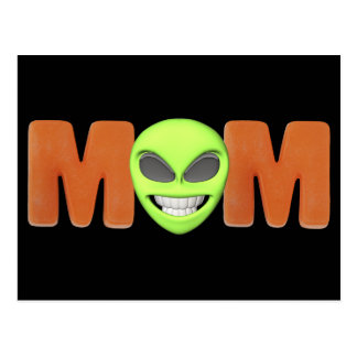 Alien T-shirts and Gifts For Mom Postcards