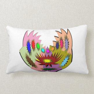 Alien Tatoo : Body Piercing and Fun-tas-tic Art Lumbar Pillow