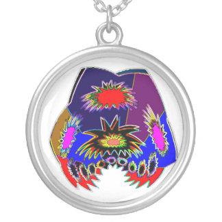 Alien Tatoo : Body Piercing and Fun-tas-tic Art Round Pendant Necklace