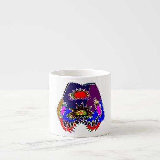 Alien Tatoo : Body Piercing and Fun-tas-tic Art 6 Oz Ceramic Espresso Cup