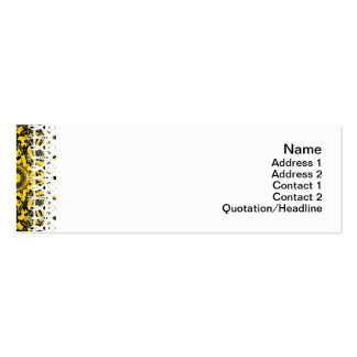 Alien Technology Alternate Big Double-Sided Mini Business Cards (Pack Of 20)