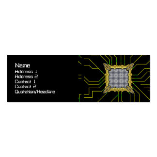 Alien Technology Alternate Small Double-Sided Mini Business Cards (Pack Of 20)