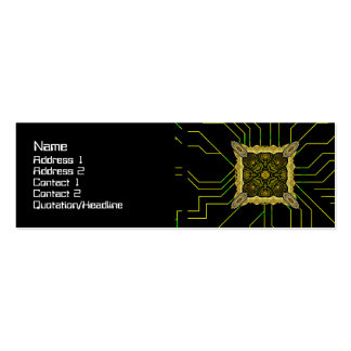 Alien Technology Big Double-Sided Mini Business Cards (Pack Of 20)