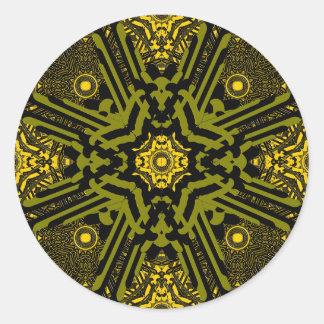 Alien Technology Big Classic Round Sticker