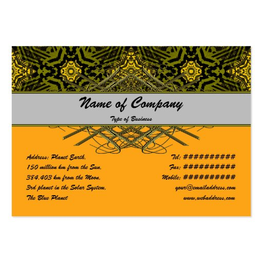 Alien Technology Small Business Card