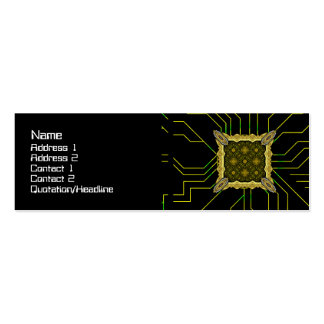 Alien Technology Small Double-Sided Mini Business Cards (Pack Of 20)