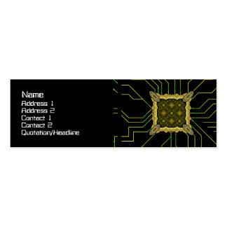 Alien Technology Small Mini Business Card