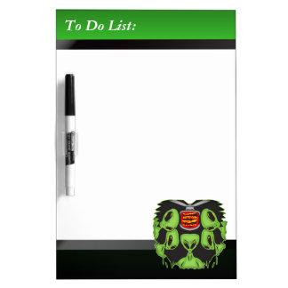 Alien To Do List Dry Erase Board