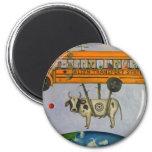 Alien Transport System 2 Inch Round Magnet