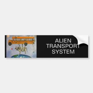 Alien Transport System Bumper Sticker
