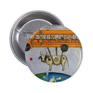 Alien Transport System Pinback Buttons