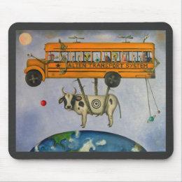 Alien Transport System Mouse Pad