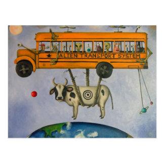 Alien Transport System Postcard