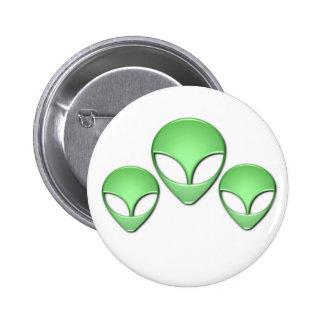 Alien Trio Button