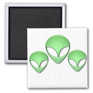 Alien Trio Magnet