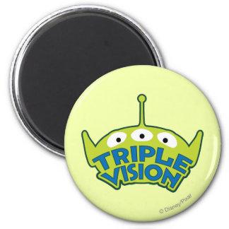 Alien Triple Vision 2 Inch Round Magnet