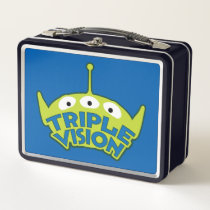 Alien Triple Vision Metal Lunch Box
