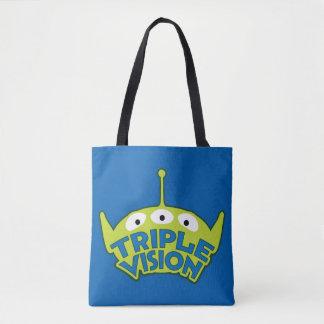 Alien Triple Vision Tote Bag