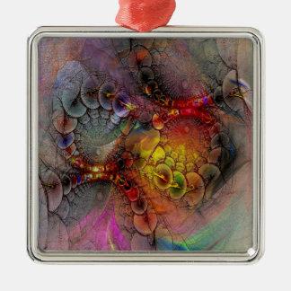 Alien Tundra Metal Ornament