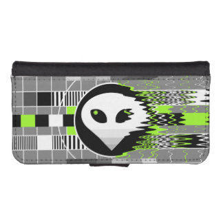 Alien TV iPhone 5/5S wallet case