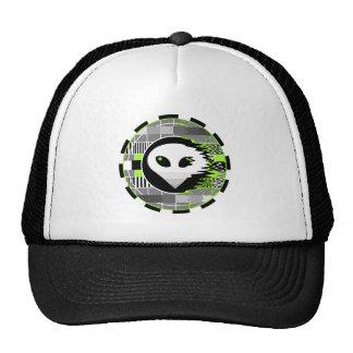 Alien TV Round trucker hat