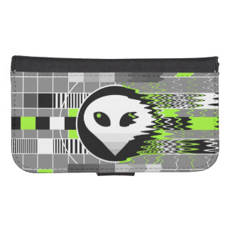 Alien TV Samsung Galaxy S4 wallet case