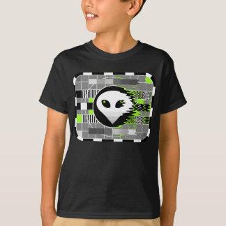 Alien TV t-shirt kid's basic black