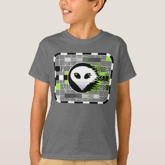 Alien TV t-shirt kid's basic grey