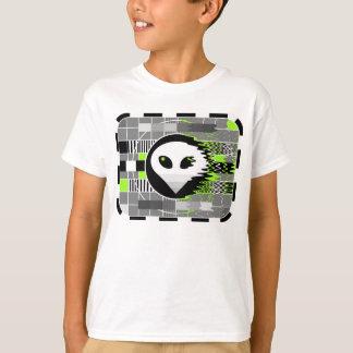 Alien TV t-shirt kid's basic white