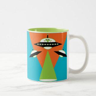 alien Two-Tone coffee mug
