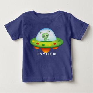 Alien UFO Baby Fine Jersey T-Shirt