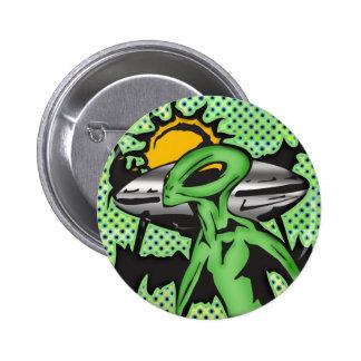 Alien UFO Button