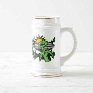 Alien UFO Coffee Mugs