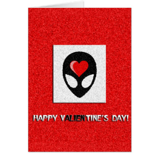 aLiEn Valentine Card