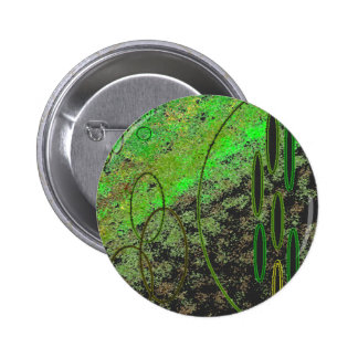Alien Vision 2 Inch Round Button
