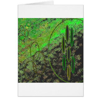 Alien Vision Greeting Cards