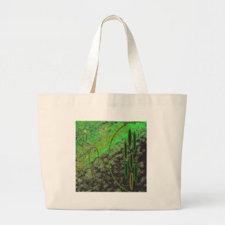 Alien Vision Jumbo Tote Bag