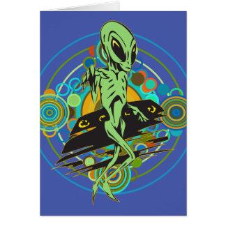 Alien Visitations Card