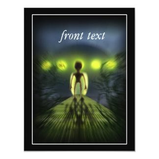 Alien Visitor Card
