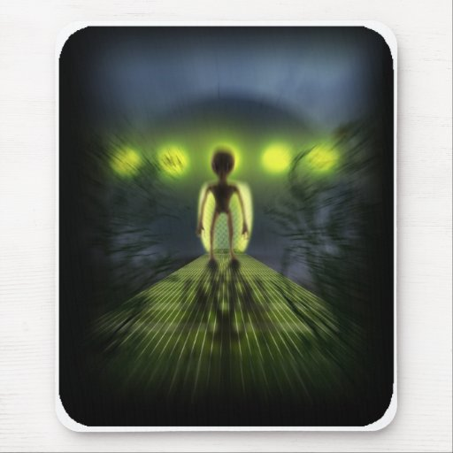 Alien Visitor Mousepad