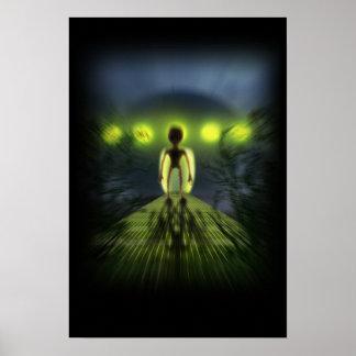Alien Visitor Poster