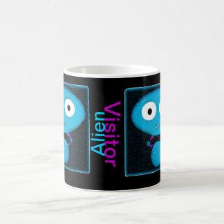 Alien Visitor Skullnskin Graphic Mug