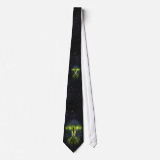 Alien Visitor Tie