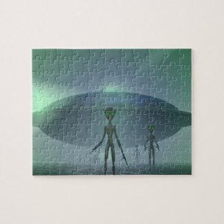 Alien Visitors jigsaw puzzle