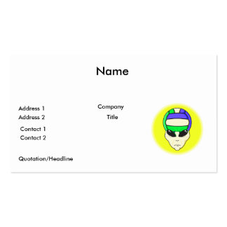 alien volleyball extreme sports design Double-Sided standard business cards (Pack of 100)