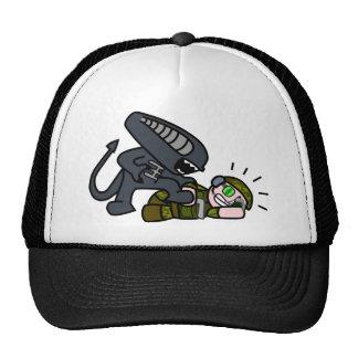 Alien vs Soldier 2 Trucker Hat