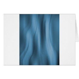 Alien Wall Blue Greeting Card