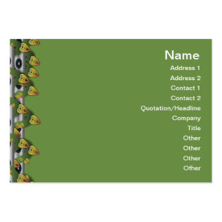 Alien Wall Decor Big Large Business Card