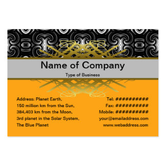 Alien Wall Decor Small Large Business Card